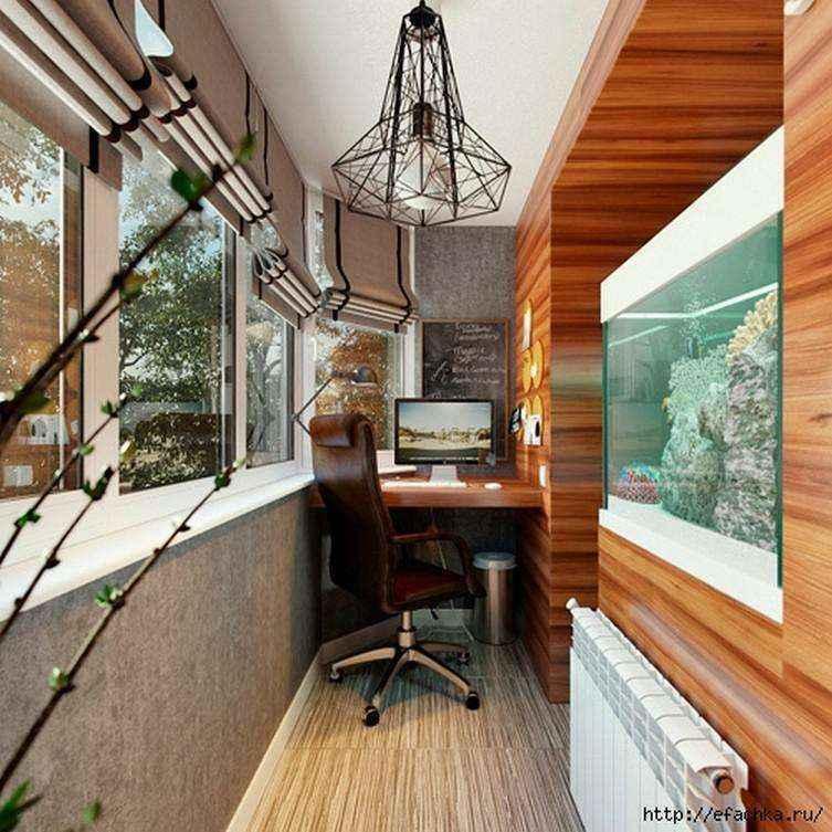 Оригинальные идеи оформления балконов