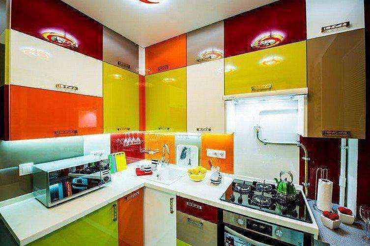 Поразительное преображение 6-метровой кухни в хрущевке