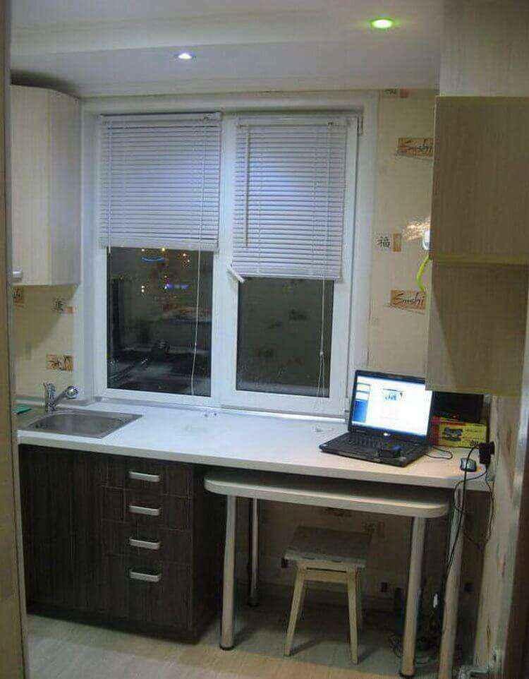 Как превратить пятиметровую кухню в настоящий рай для хозяйки!