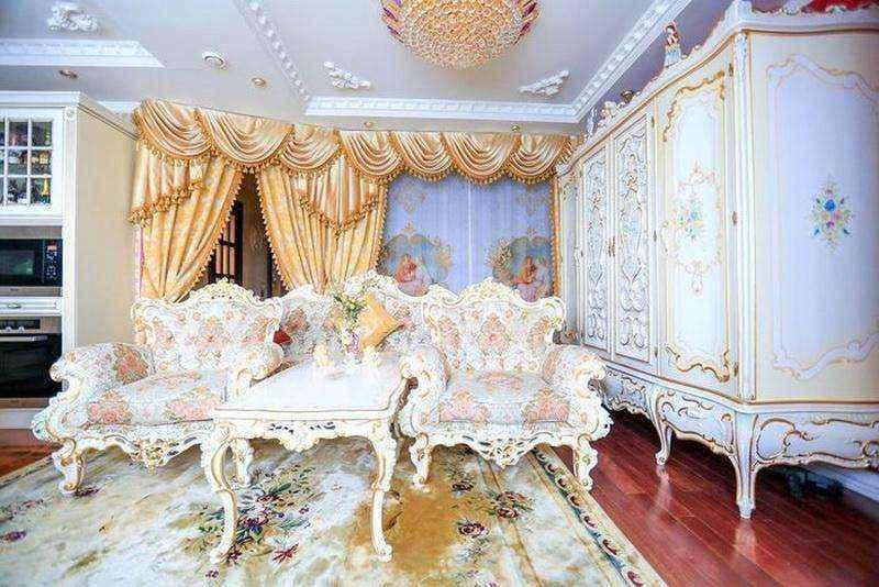 Дворец в квартире площадью 36 квадратных метров! Не верите — смотрите сами!