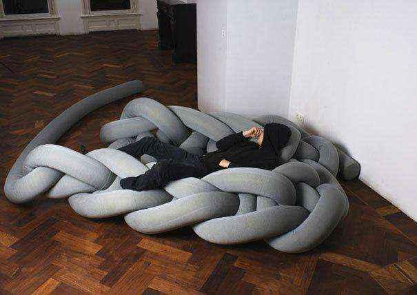 Самые необычные диваны