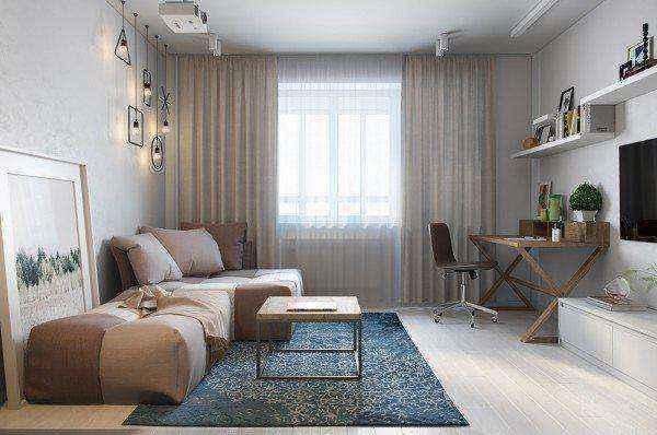 Дизайн квартиры менее 30 метров. Часть 1