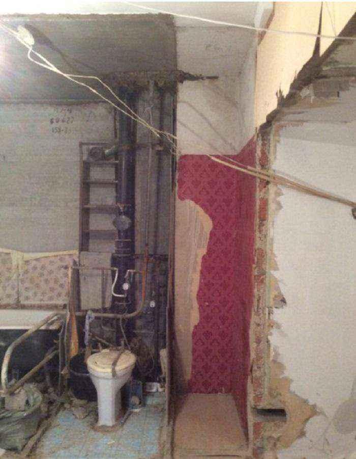 image4-4 | Вот как преобразилась квартира, в которой не было ремонта больше тридцати лет всего за месяц!