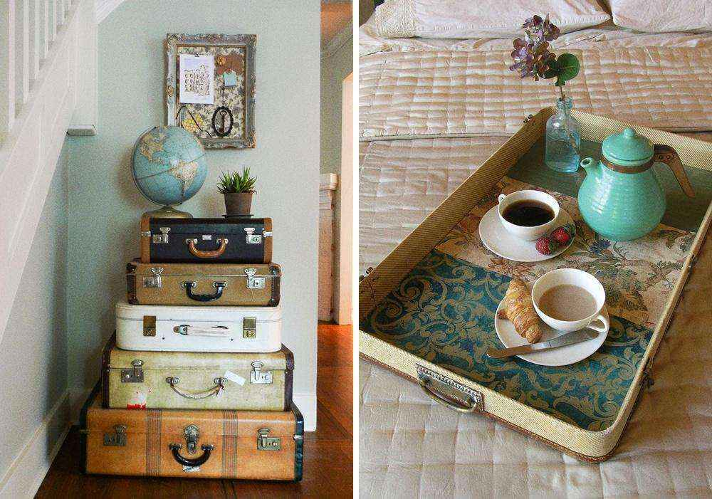 Как превратить ненужные вещи в элементы декора