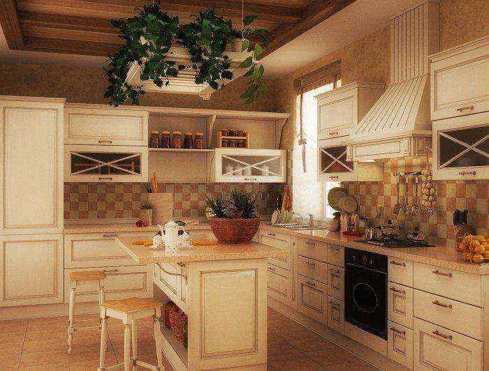 Кухни в традиционном стиле