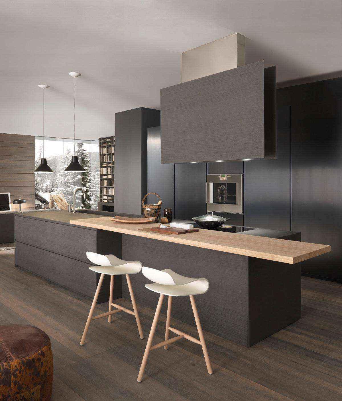 Черные кухни — новый взгляд на привычные вещи