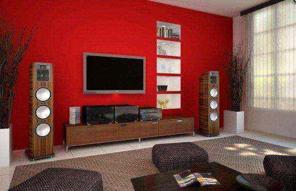 Гостиные, спроектированные вокруг телевизора