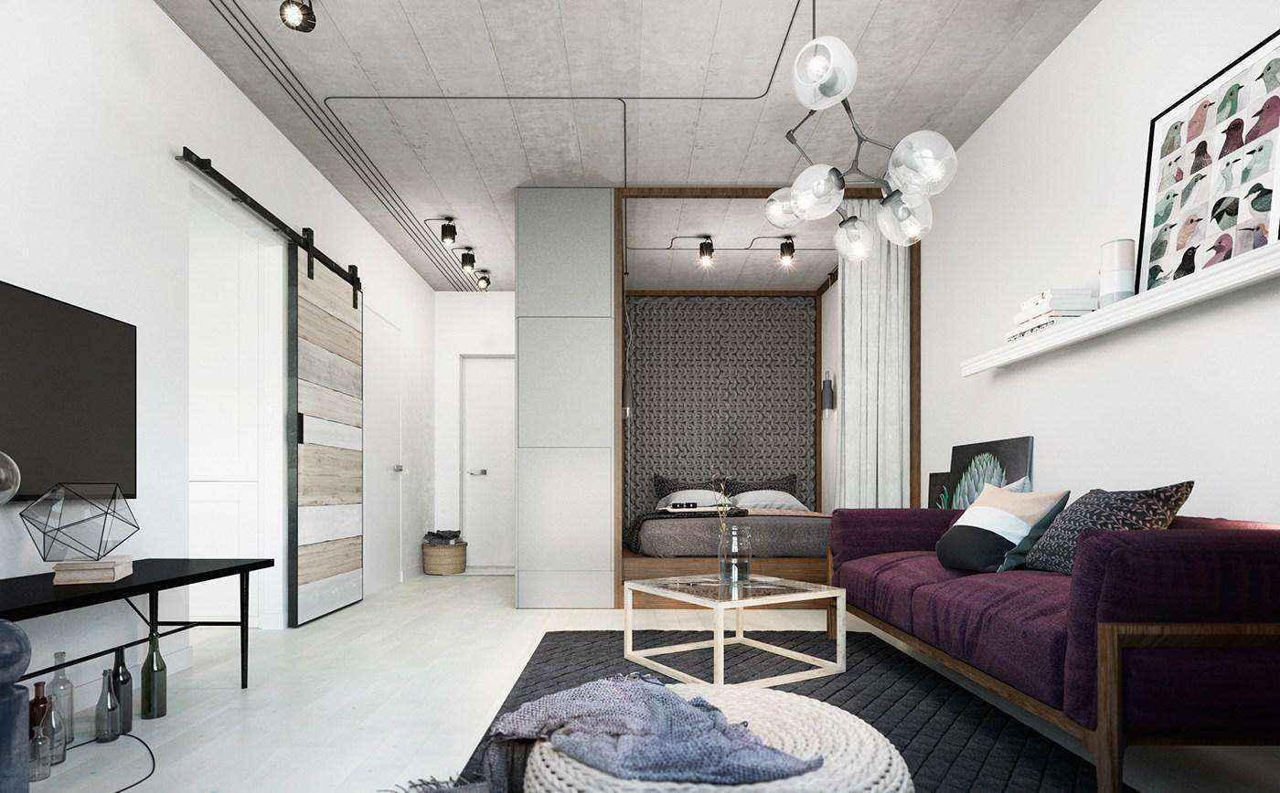 Две идеи дизайна супермаленькой квартиры