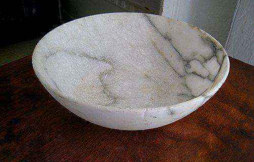 Простой метод сделать мраморную тарелочку для мелочей