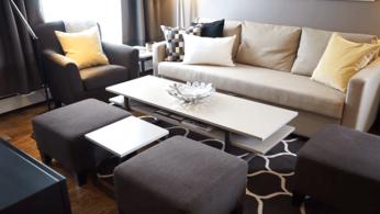 Как обустроить маленькую гостиную, имея скромный бюджет 6 | Дока-Мастер