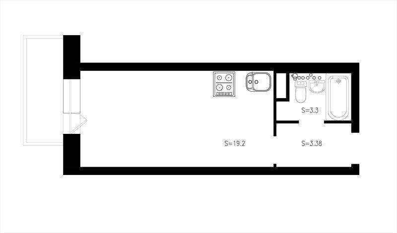 1-2-studio-apartment-plan-scheme-narrow-elongated-pass-through-room-small-space