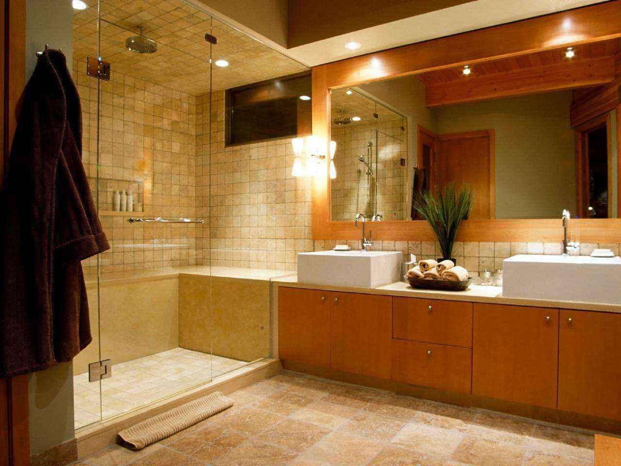 Правильное размещение освещения в ванной