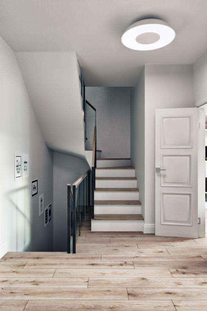 3-1-modern-light-scandinavian-style-interior-staircase-in-townhouse-white-doors-walls-light-gray-ceiling-lamp-parquet-floor