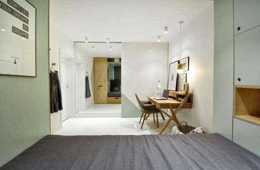 Интерьер супер-организованной и аккуратной комнаты девочки подростка