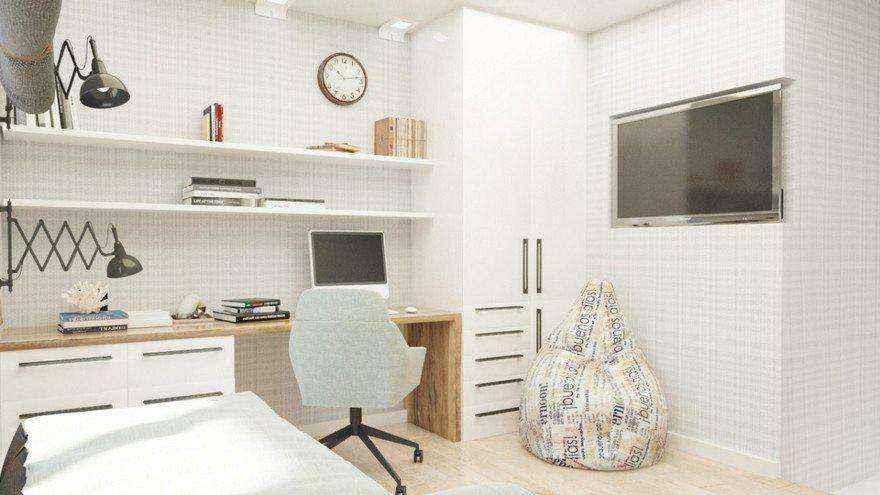 Кровати с подиумом в дизайне интерьера: 5 реальных проектов в деталях