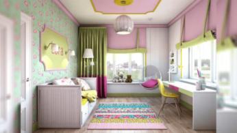 Спальня для девочки ученицы начальных классов 3   Дока-Мастер
