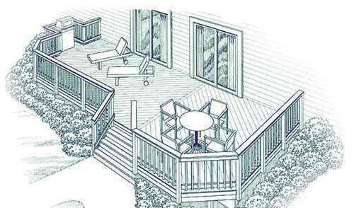 Лучшие проекты террасы для загородного дома