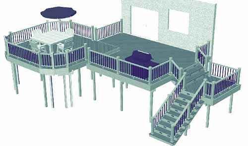 image34 | Лучшие проекты террасы для загородного дома