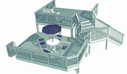 image35 | Лучшие проекты террасы для загородного дома