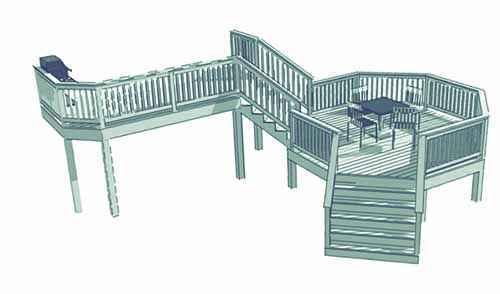 image37 | Лучшие проекты террасы для загородного дома