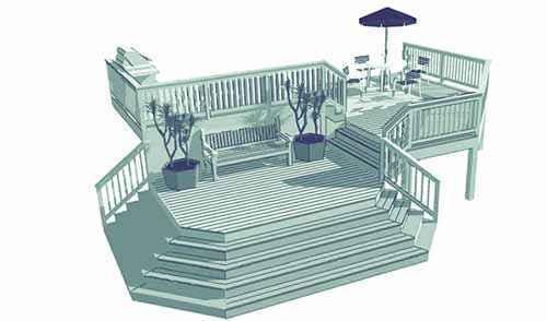 image38 | Лучшие проекты террасы для загородного дома