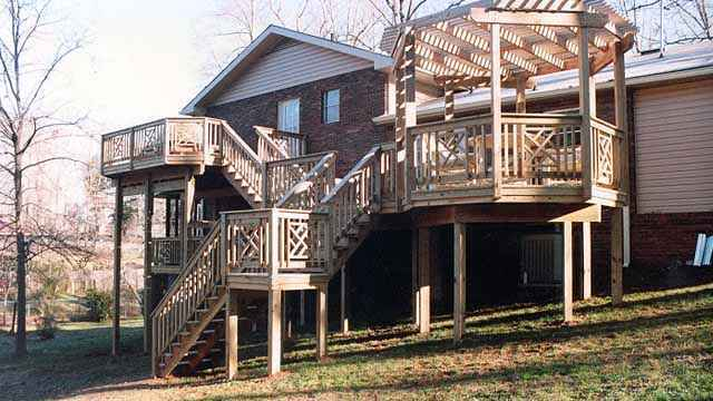 image45 | Лучшие проекты террасы для загородного дома