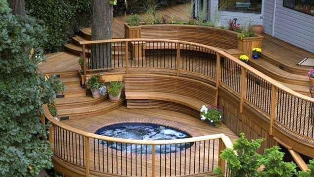 image54 | Лучшие проекты террасы для загородного дома
