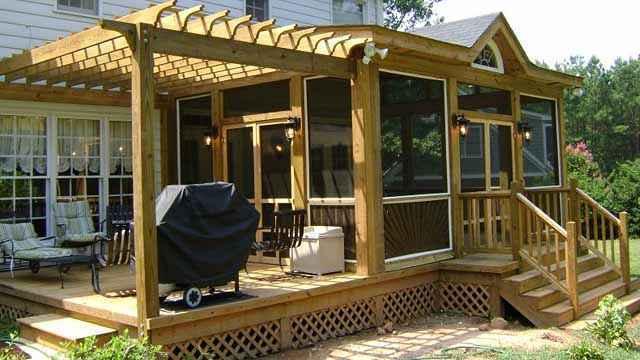 image65 | Лучшие проекты террасы для загородного дома