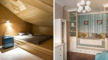 Кровати с подиумом в дизайне интерьера: 5 реальных проектов в деталях 3 | Дока-Мастер