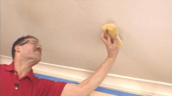 Как исправить вздувшийся гипсокартонный потолок