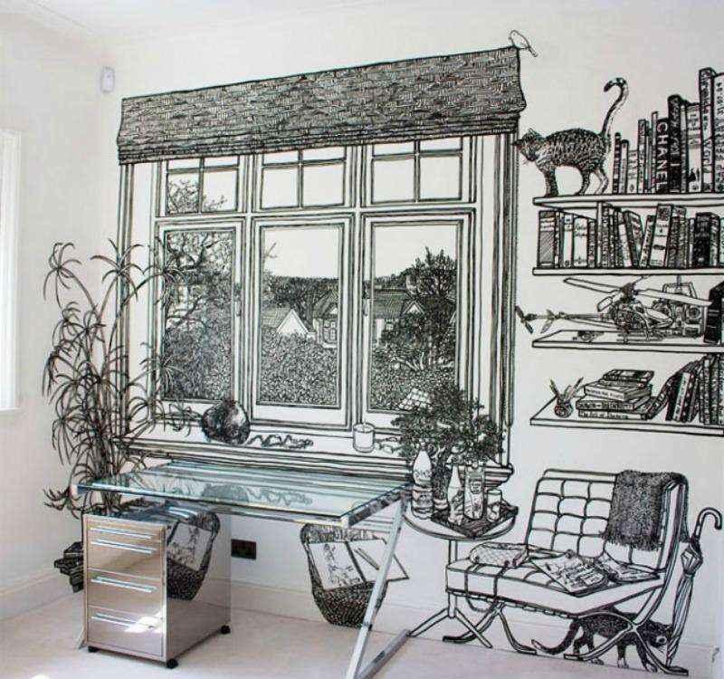 25 оригинальных идей декора интерьера своими руками