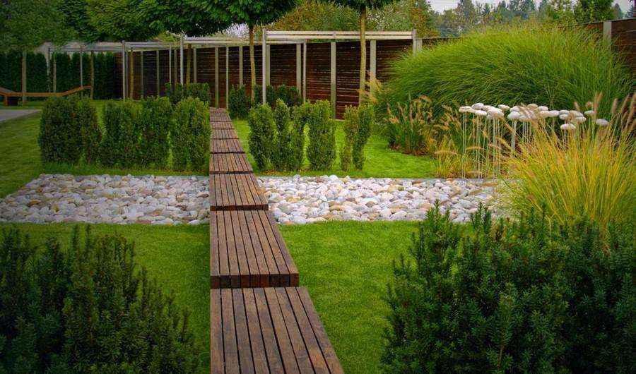 Какой материал выбрать для садовой дорожки
