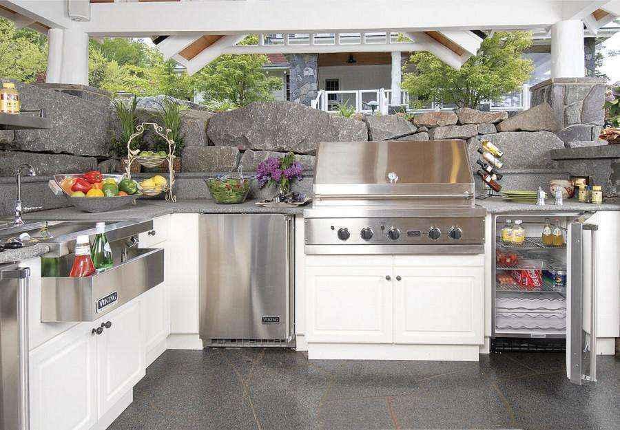 Как устроить летнюю кухню. Часть первая