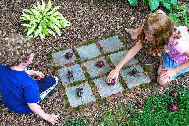3 простых проекта своими руками: Детские игры для сада!