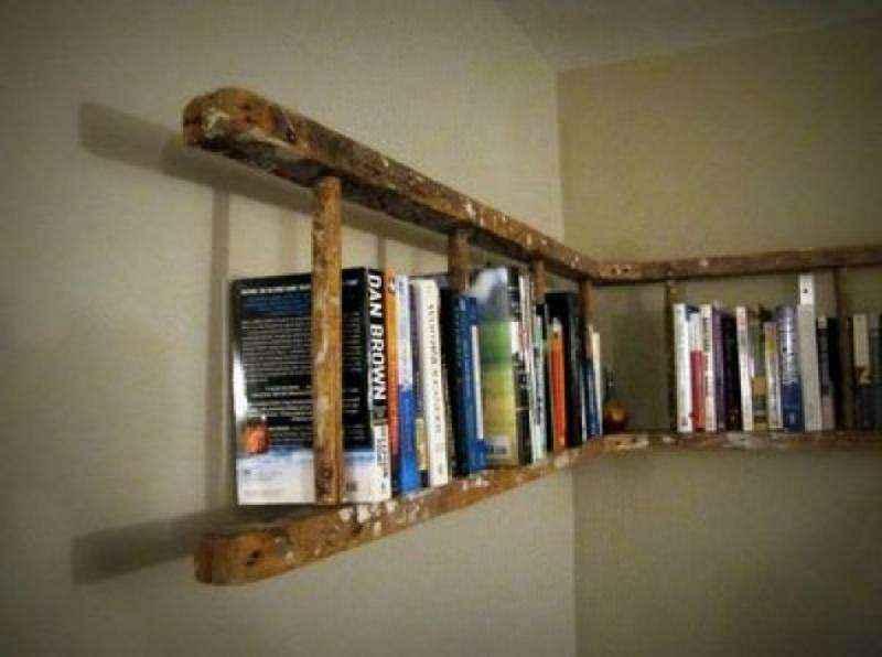 Идеи дизайна креативных книжных полок