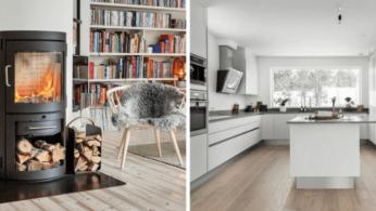 Потрясающие интерьеры в скандинавском стиле 3 | Дока-Мастер