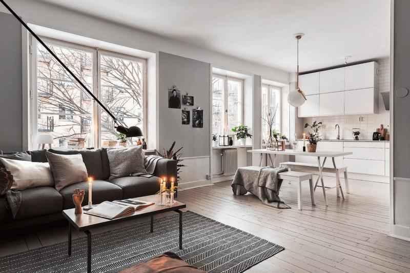 И снова скандинавский стиль — простота и элегантность