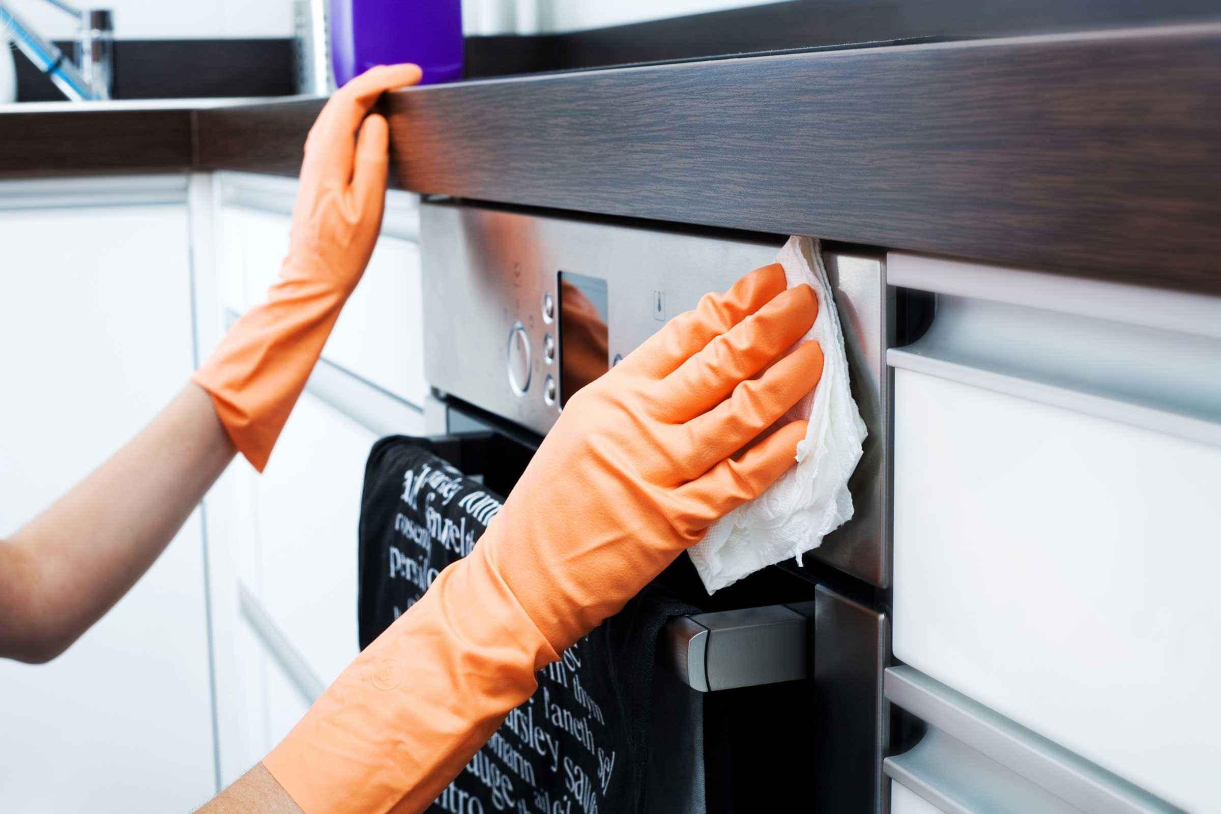 15 способов уборки кухни которые заставят ее сиять