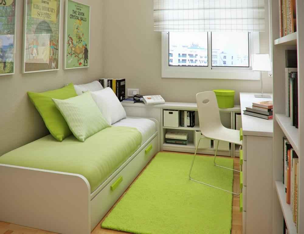 9 умных идей для маленькой спальни