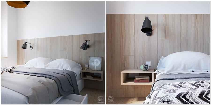 Двухкомнатная квартира для современной молодой семьи из однокомнатной