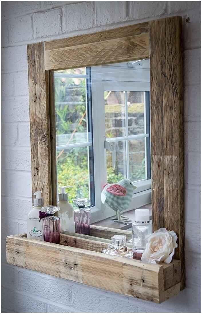 10 идей для зеркала в ванной