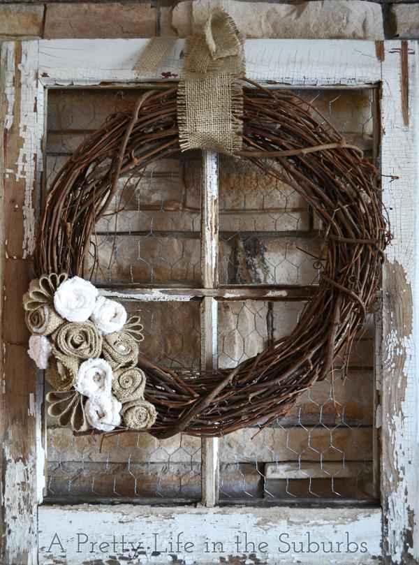 Как можно использовать старые деревянные рамы