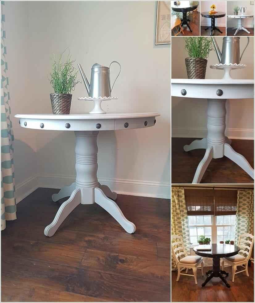 10 идей новой жизни старого стола