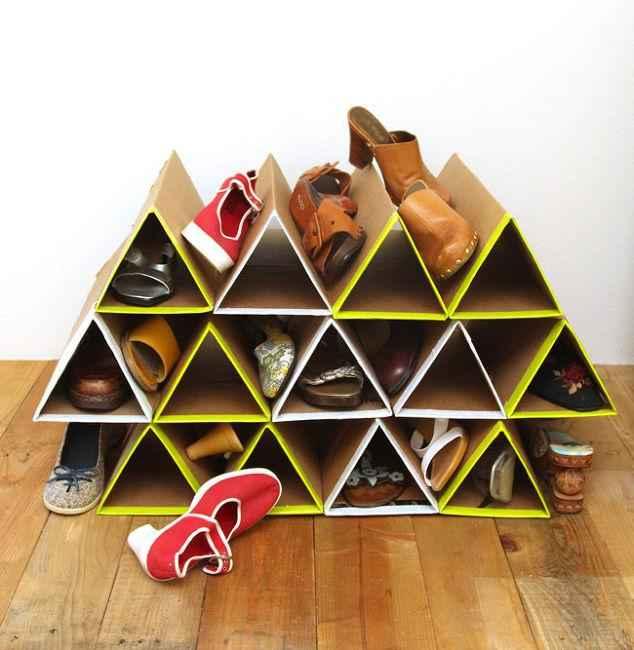 10 невероятных идей хранения обуви