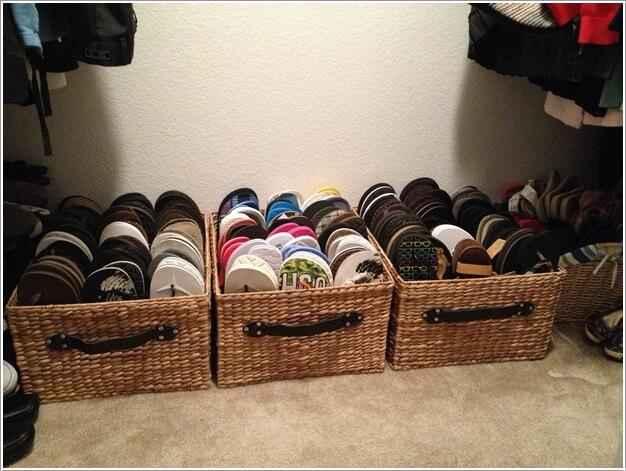 13 идей экономичного хранения обуви