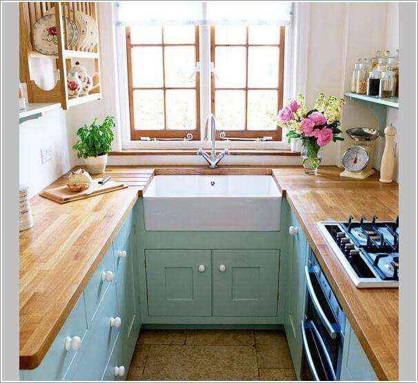 image1-45   10 способов зрительно расширить маленькую кухню