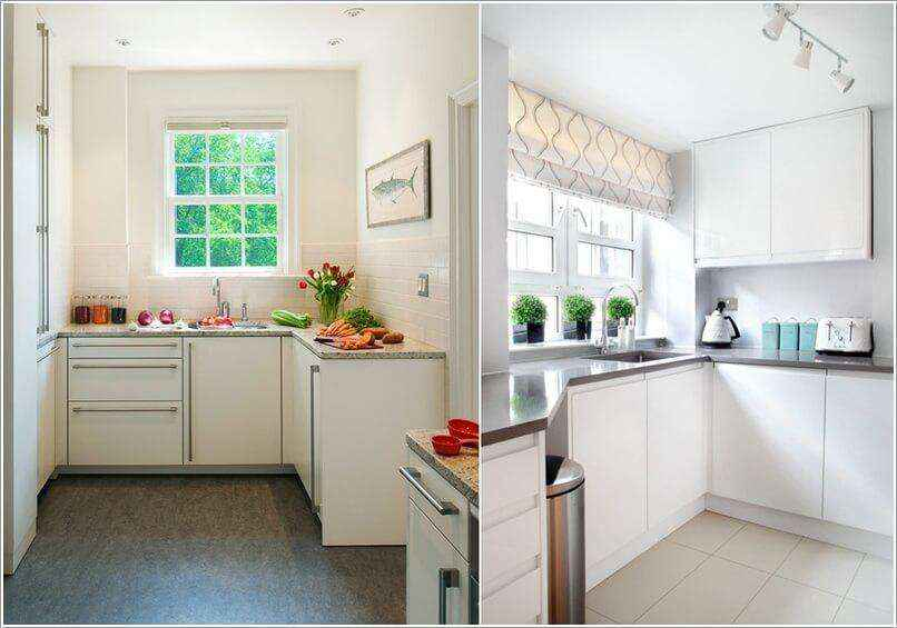 image10-38   10 способов зрительно расширить маленькую кухню