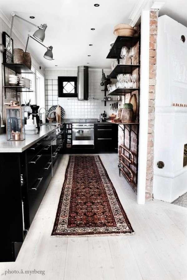 14 способов расширить маленькую кухню