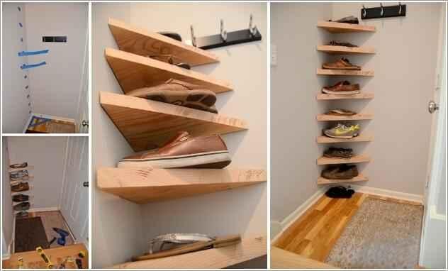 15 умных идей хранения обуви