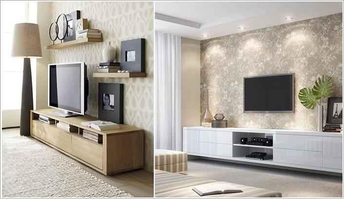10 идей размещения телевизора